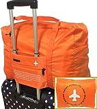 【ポジティブ】 スーツケース の持ち手に通せる バッグ オン バッグ フォールディングバッグ 軽量 折りたたみ トラベルバッグ 旅行バッグ 32L 機内持込可 で 旅行 や 出張 に最適な バッグ 保証書付き