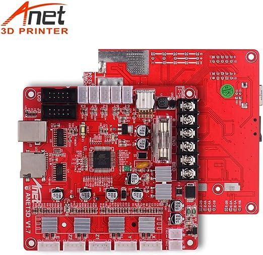 Anet V1.7 3D Printer Accessories Motherboard Control Board for Anet A8 prusa I3 Reprap 3D Printer Parts