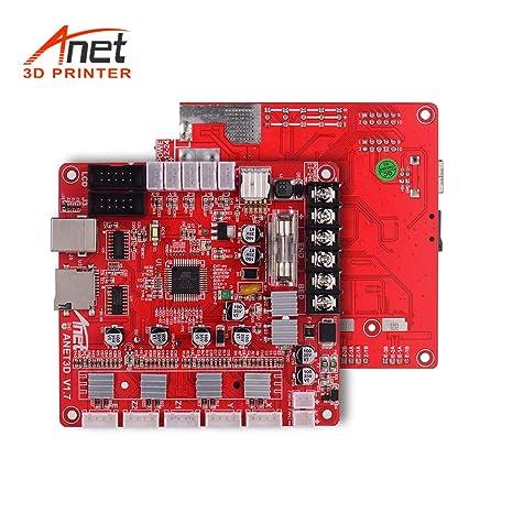 Amazon.com: Aibecy Anet A1284-Base V1.7 Placa base de ...