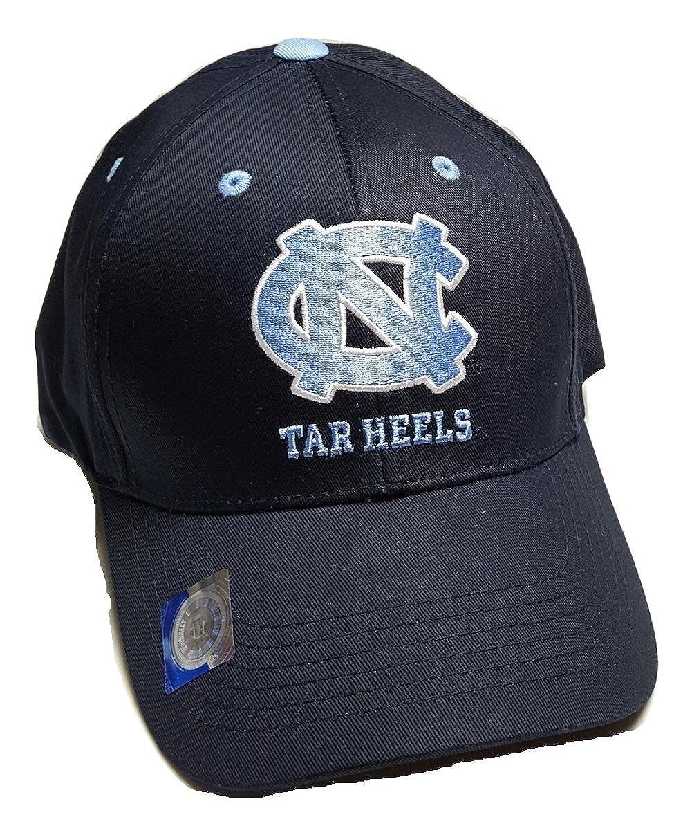 competitive price 64c9e 191a3 Amazon.com   UNC North Carolina Tar Heels Adjustable Logo Cap, Choose Color  (Navy)   Clothing