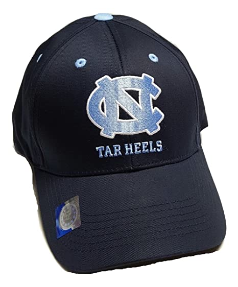 new style e9132 ff7e2 Image Unavailable. Image not available for. Color  UNC North Carolina Tar  Heels Adjustable Logo Cap ...
