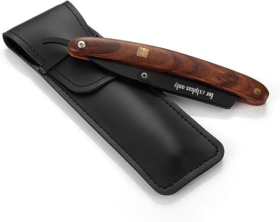 A.P. Donovan - Afeitadora con cuchilla intercambiable | Afeitadora | Cuidado de la barba | Afeitadora con estuche: Amazon.es: Salud y cuidado personal