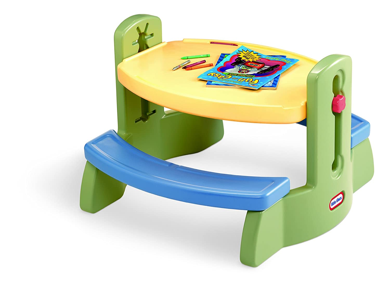 Amazon Com Little Tikes Adjust N Draw Table Toys Games