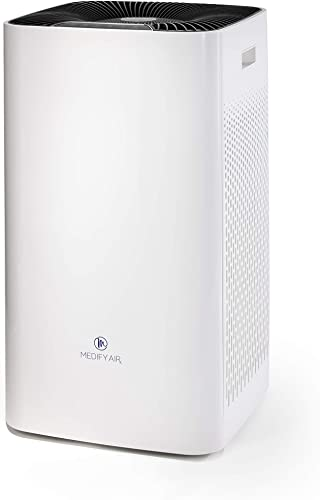 Medify MA-112 The Only 950 CADR H13 HEPA Air Purifier Covers up to 5,000 sq ft Every Hour Dual air Intake with 2 Sets of Filters for Allergies, Smog, Odors, Smoke, Pets Dander, Dust