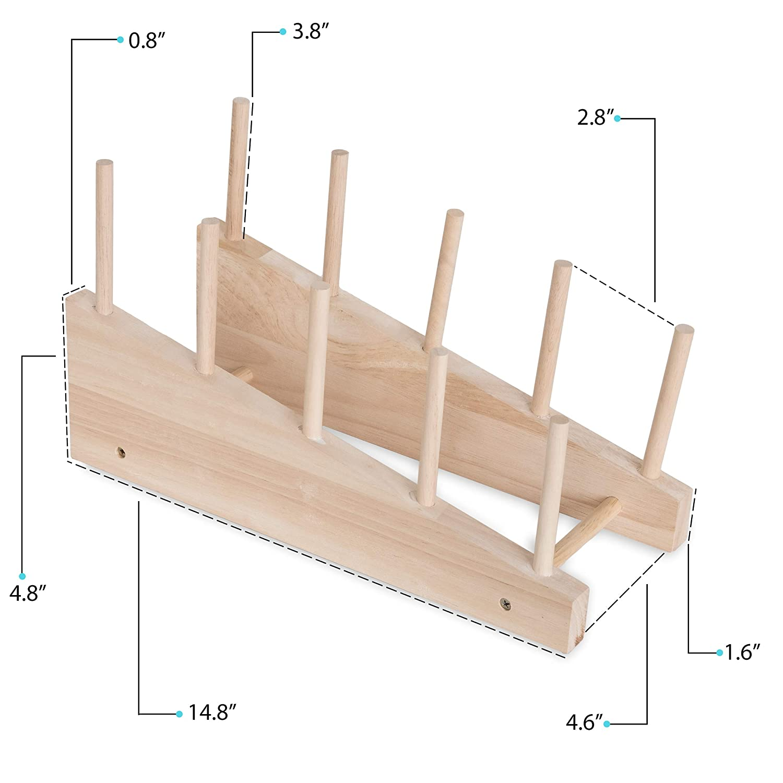 Amazon.com: Free-Standing Utensilios de cocina tabla de ...