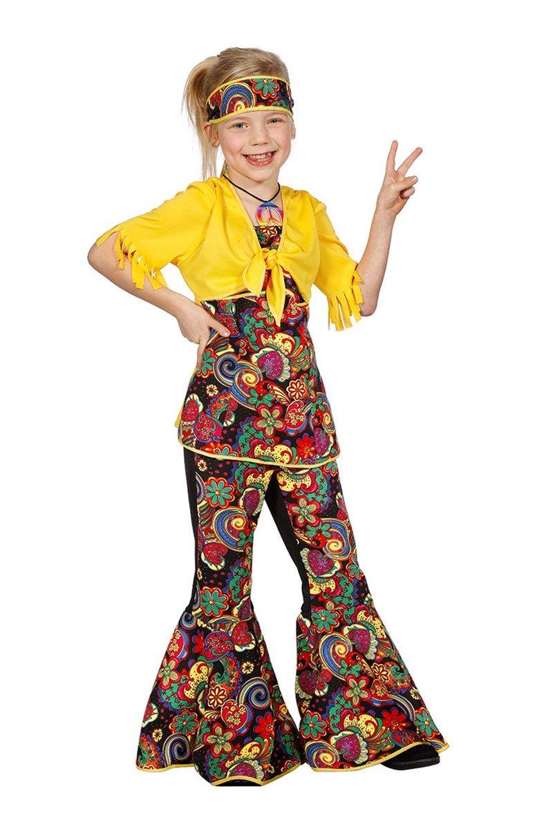 Costume Hippie Bambina 7-8 anni (128 cm)