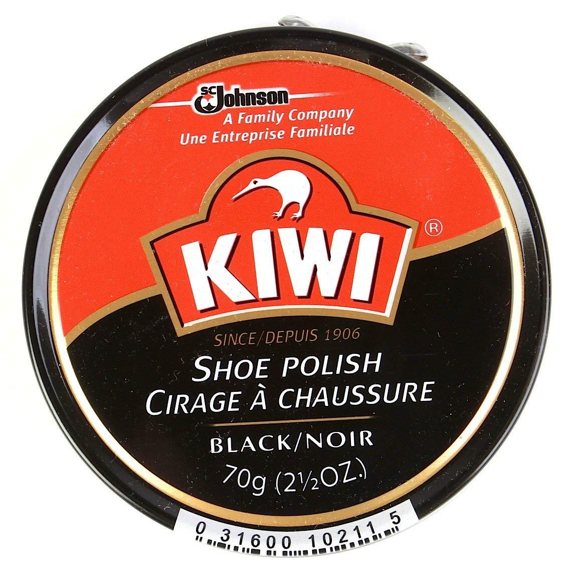 Kiwi Shoe Polish 1 1 / 8オンス(カラーVariety ) 10-Pack ブラック B00EV0ECHC ブラック 10-Pack