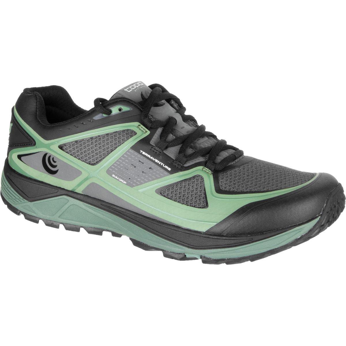 Topo Athletic terraventure – Zapatillas Hombre - 16M182-CHAGRN-115, Carbón/verde (Charcoal/green) 11.5 D(M) US|Carbón/verde (Charcoal/green)