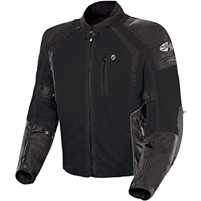Joe Rocket Phoenix Ion Men's Mesh Motorcycle Jacket (Black, X-Large Tall): Automotive