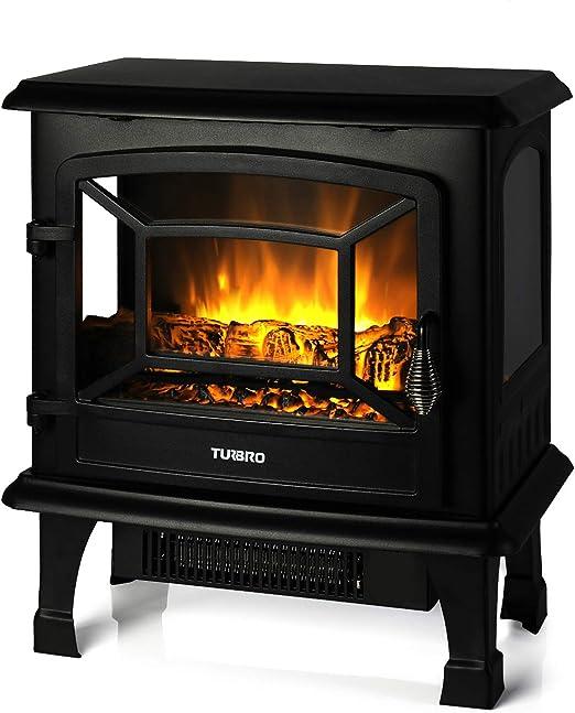 Amazon Com Turbro Suburbs Ts20 Electric Fireplace Heater