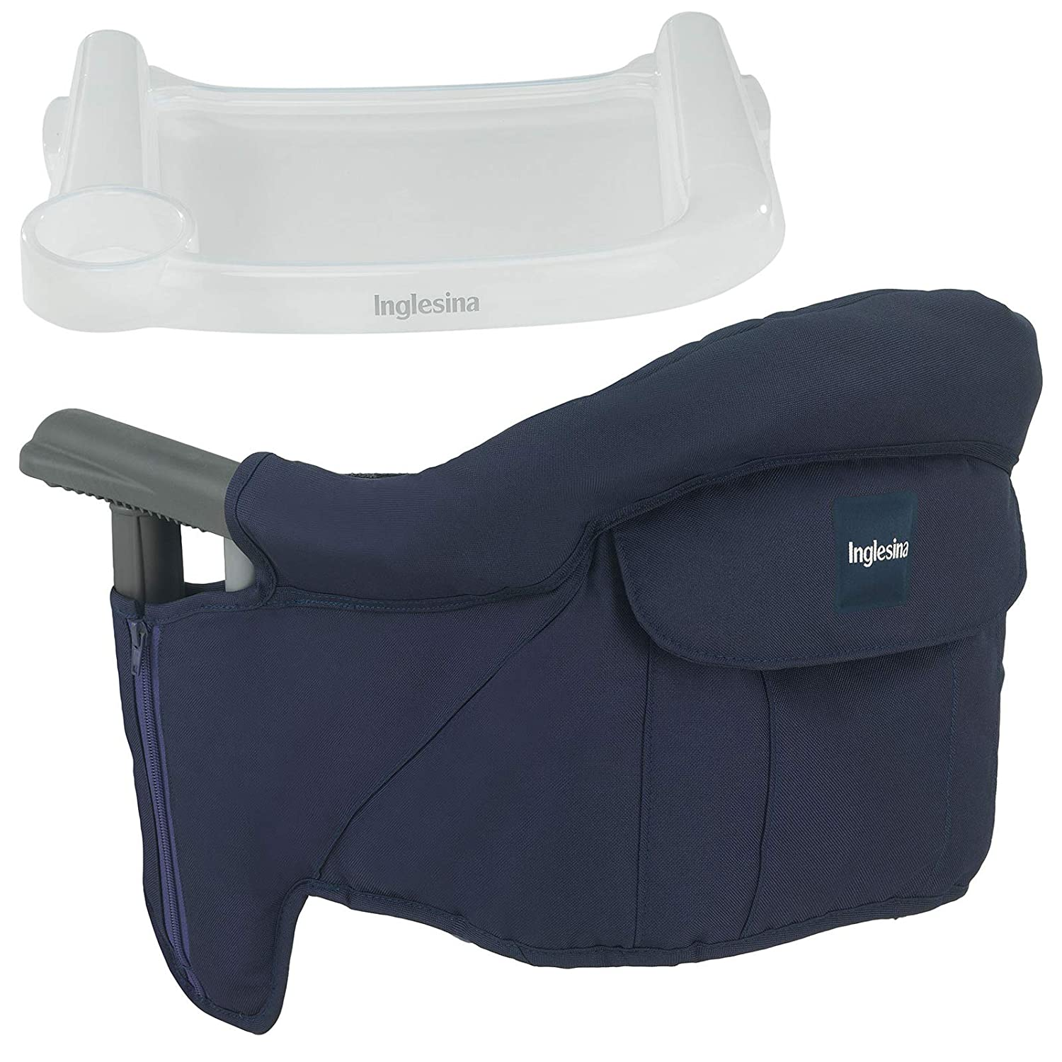 Inglesina - Fast Table Chair With Dining Tray - Navy by Inglesina [並行輸入品]   B00J7Y9CC2