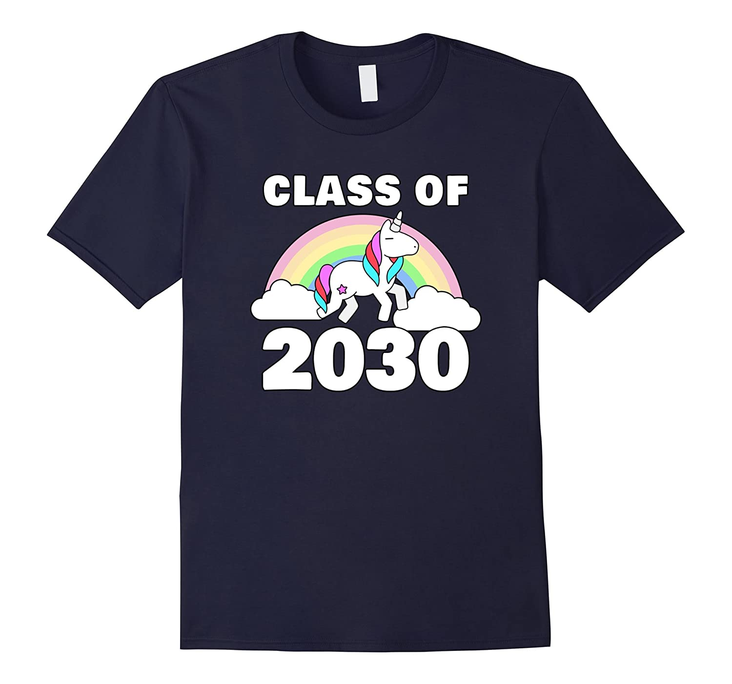 2017 Graduate Class Of 2030 Rocks Unicorn Tshirt-CL