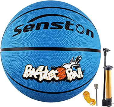 Amazon.com: Senston - Balón de baloncesto juvenil para niños ...