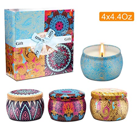 Scented Candles Gifts Set for Women
