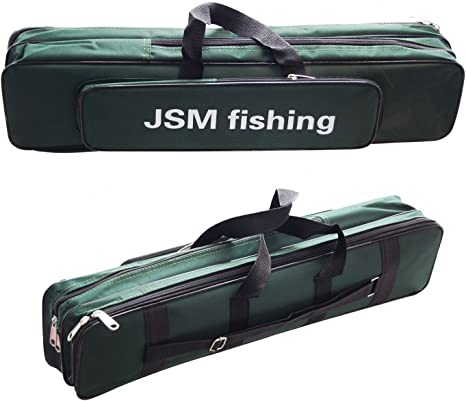 JSHANMEI Oxford Waterproof Fishing Bag, Fishing Rod Case