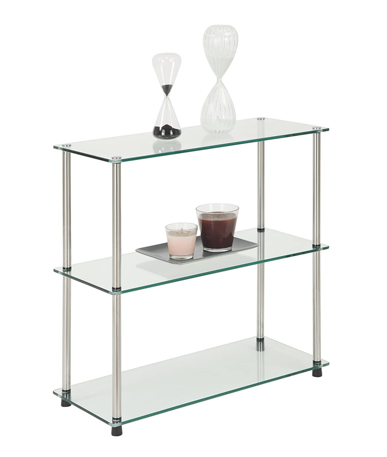 Amazon.com: Convenience Concepts Designs2Go Go-Accsense 3-Shelf ...