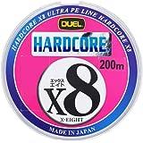 デュエル(DUEL) PEライン ハードコア X8 200m マーキングシステム