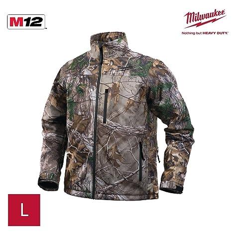 Milwaukee 4933451598 - Chaqueta calefactable camuflaje premium ver-0