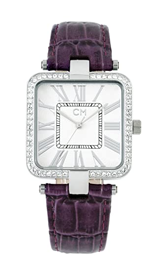 Carlo Monti CM505-110 - Reloj analógico de mujer de cuarzo con correa de piel