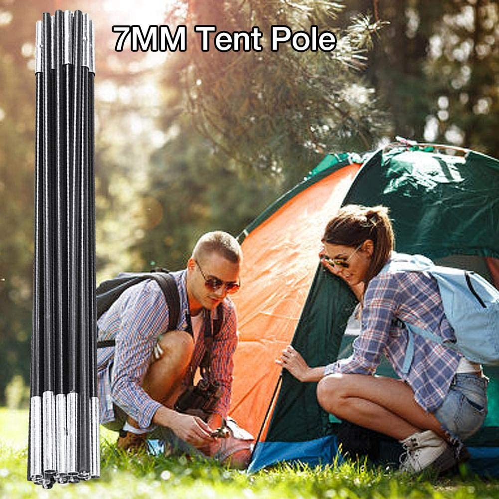Fiberglass Rod Curved Tent Support Tent Rod Accessories for Outdoor Camping Zhanwang17 7MM Tent Pole