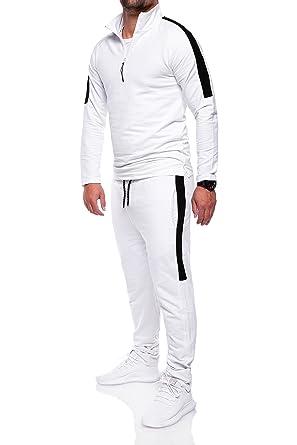 48bc98d821 MT Styles ensemble pantalon de sport + sweat-Shirt jogging survêtement R-1059  [
