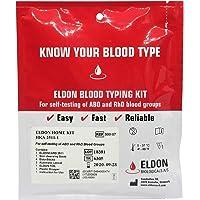 (2 Pack) Eldoncard Blood Type Test - air sealed envelope, safety lancet, micropipette, cleansing swab