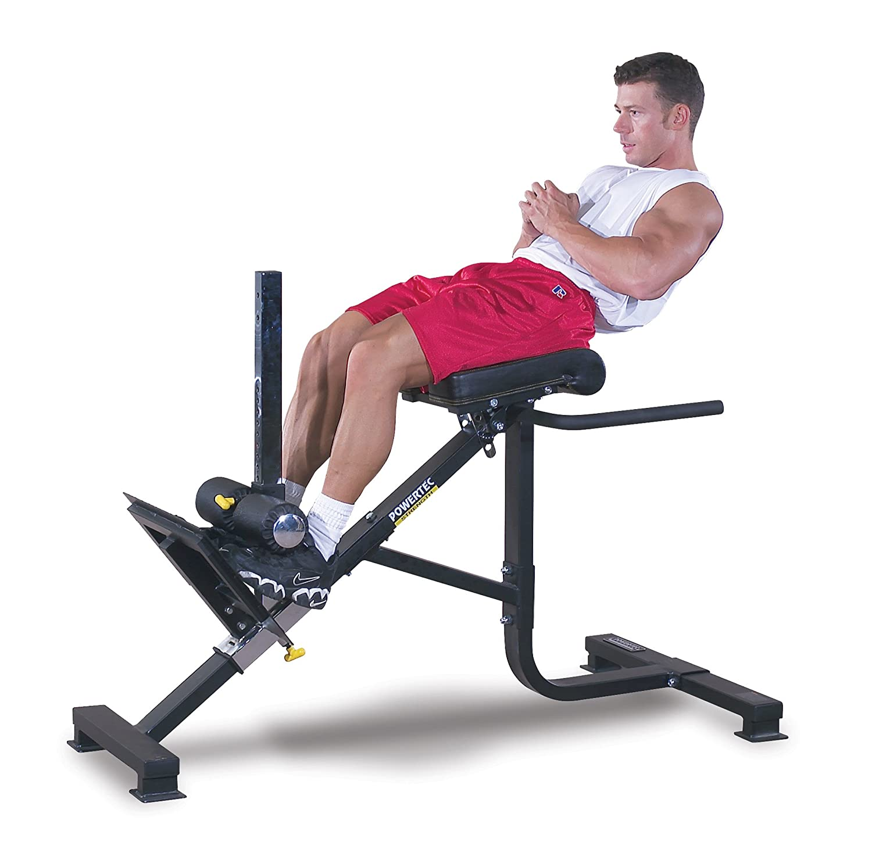 Amazon Powertec Fitness P HC10 45 Degree Dual Hyperextension