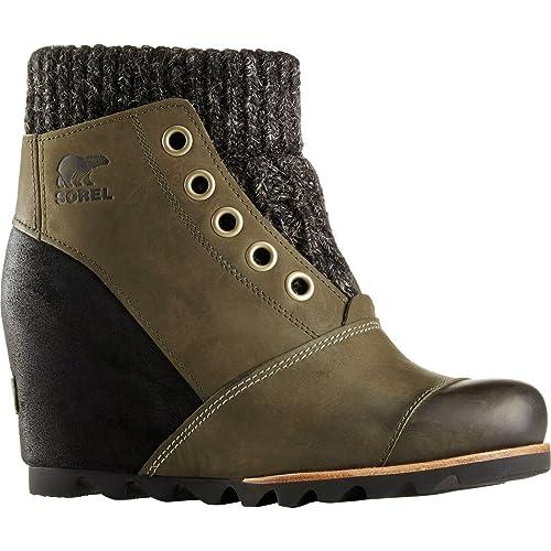 Amazoncom Sorel Joanie Sweater Boot Ankle Bootie