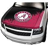 NCAA Alabama Auto Hood Cover, One Size, One Color