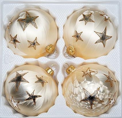 "Vidrio-bolas de 12 cm de diámetro en ""Ice Blüten"