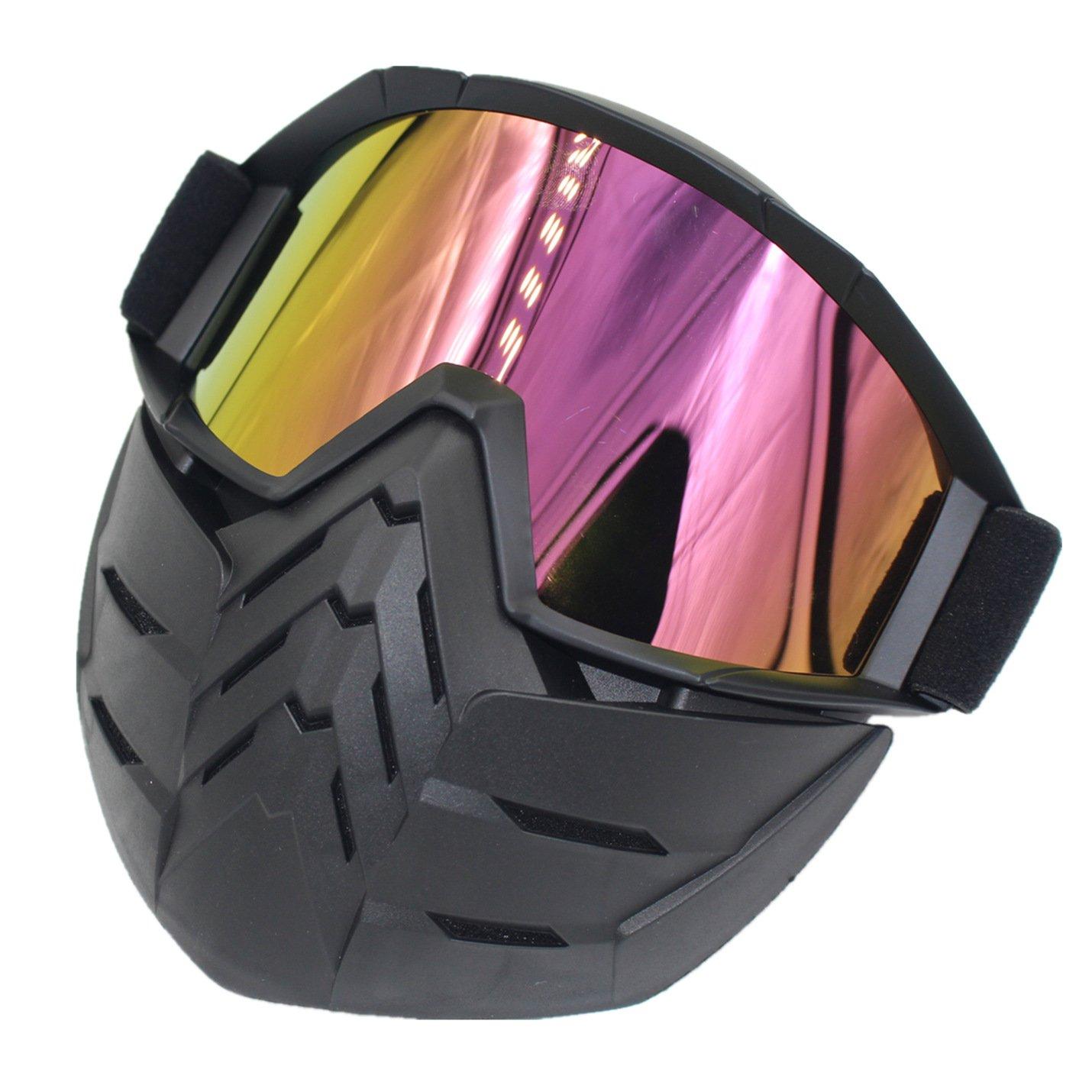 Amazon.com: cuzaekii Motorcycle Racing Motocross anteojos ...