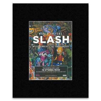Amazon.com: Stick It On Your Wall SLASH - World On Fire Mini ...