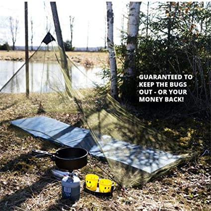 Amazon.com: mexidi mosquitos CAMPING mosquitero toldo con ...
