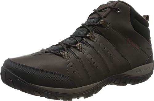 Columbia Woodburn II Chukka WP Omni Heat, Chaussures de Randonnée Homme