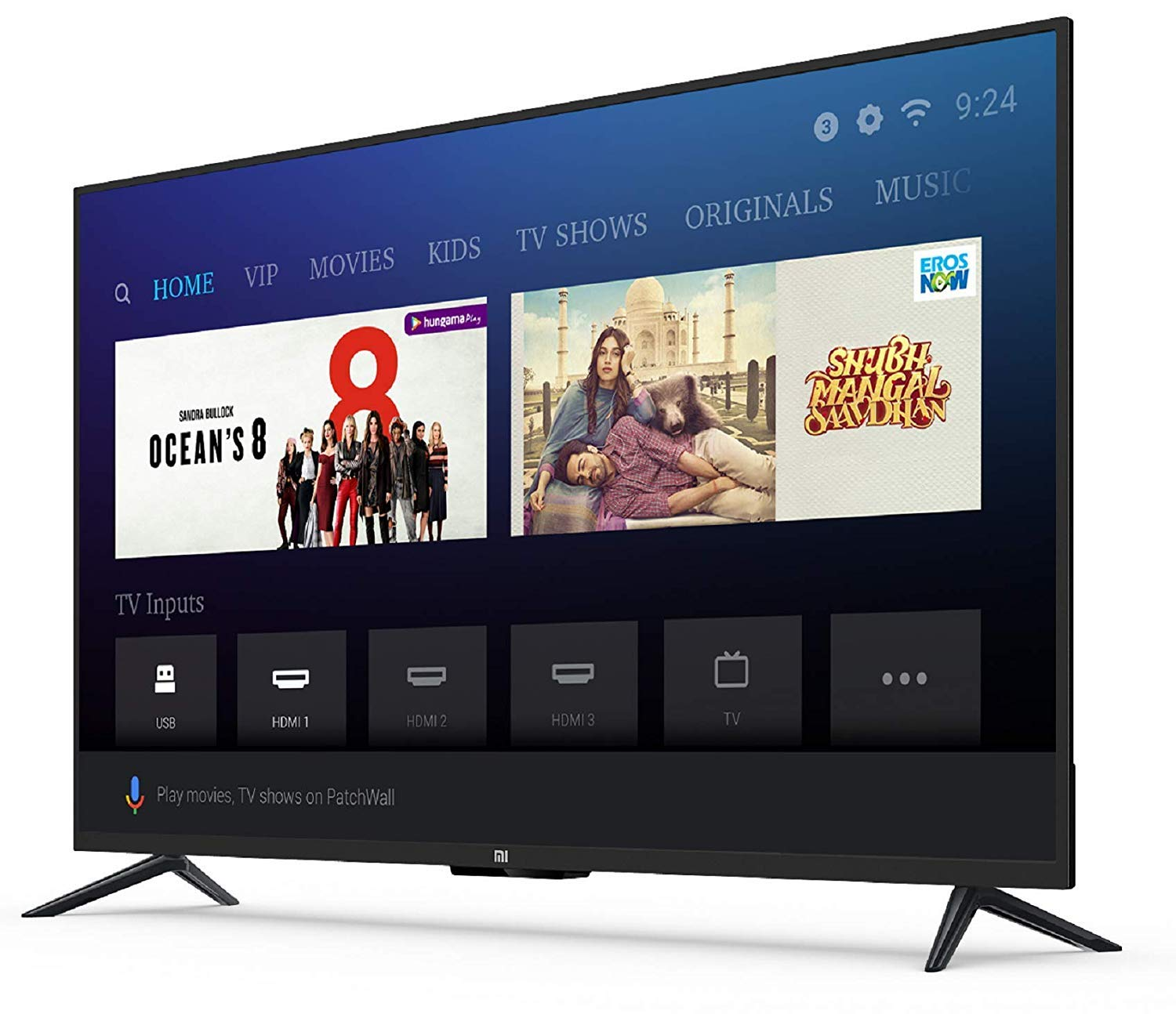 f4e555b96b924 Mi LED TV 4A PRO 123.2 cm Full HD Android TV  Amazon.in  Electronics