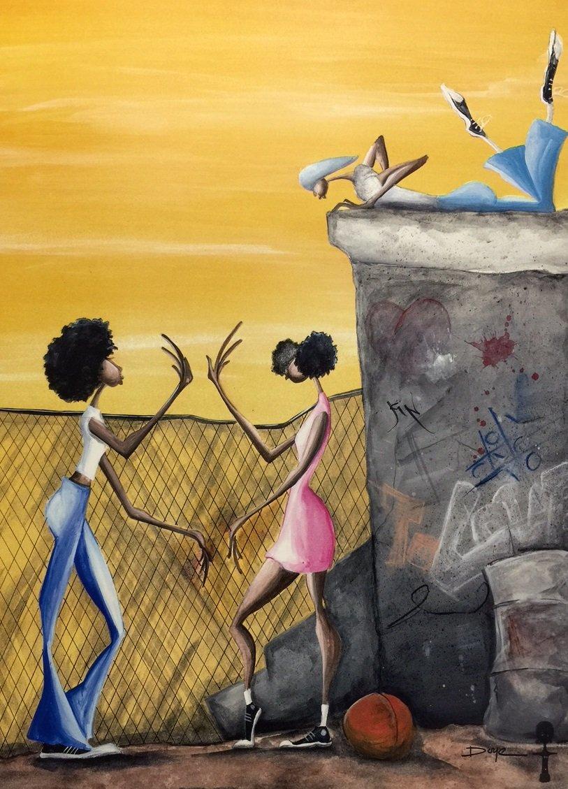 Amazon.com: Pattycake ( Children ) - Gerald Ivey 18x24 Unframed ...