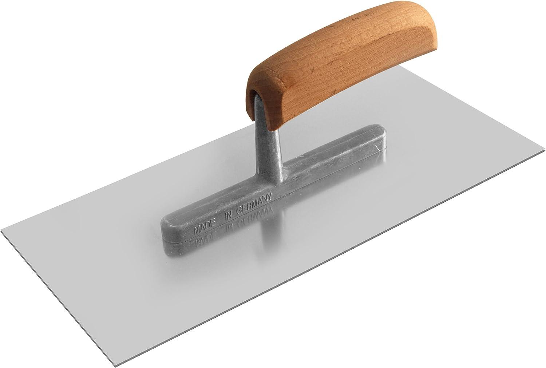 280 x 130 x 0,7 mm TECTOOL Gl/ättekelle rostfrei Holzgriff