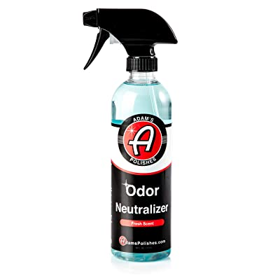 Adam's Odor Neutralizer - Specially Formulated Air Freshener That Eliminates Harmful Odors from Car Interior Accessories, Leather Seats, Carpet Upholstery, Pet Odors (Fresh Scent): Automotive