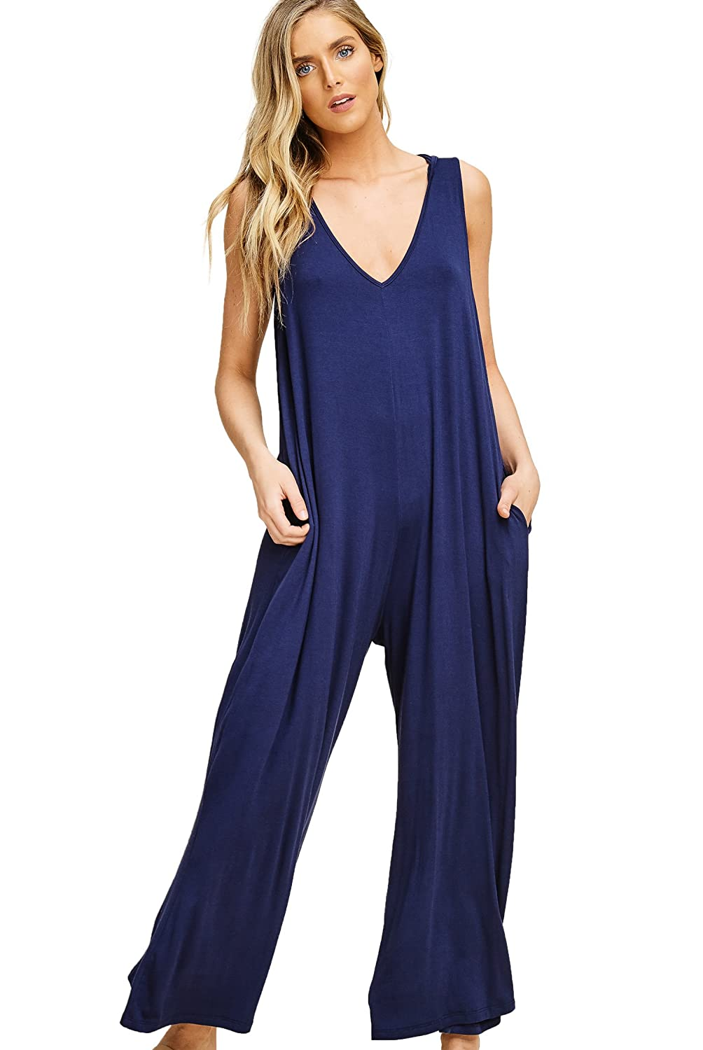 4cea3481e6145 Sleeveless, Wide Straight Leg, Loose Fit Everyday Wear; Comfortable Loung  Wear; Light Weight Fabric, Soft and Cozy for Extra Comfort