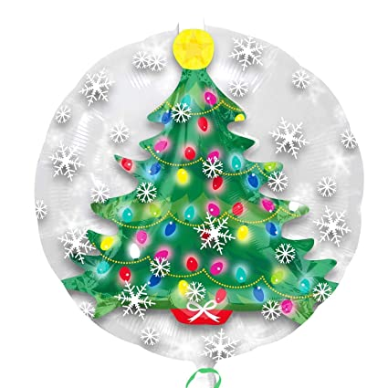 Christmas Tree Balloon.Amazon Com Insiders Christmas Tree 24 Inch Mylar Balloon