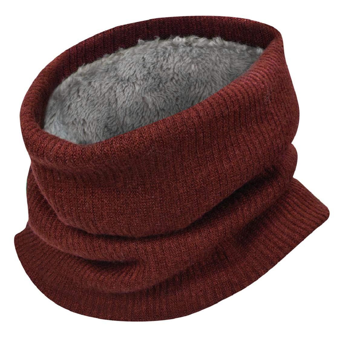 Unisex Sciarpa Inverno Caldo Morbido in Misto Lana Inverno Scamosciato Spessore Scaldino Donne e Uomini Sciarpa Sciarpa in Maglia Autunno Invernali Donna Yuson Girl Sciarpa Donne Uomini