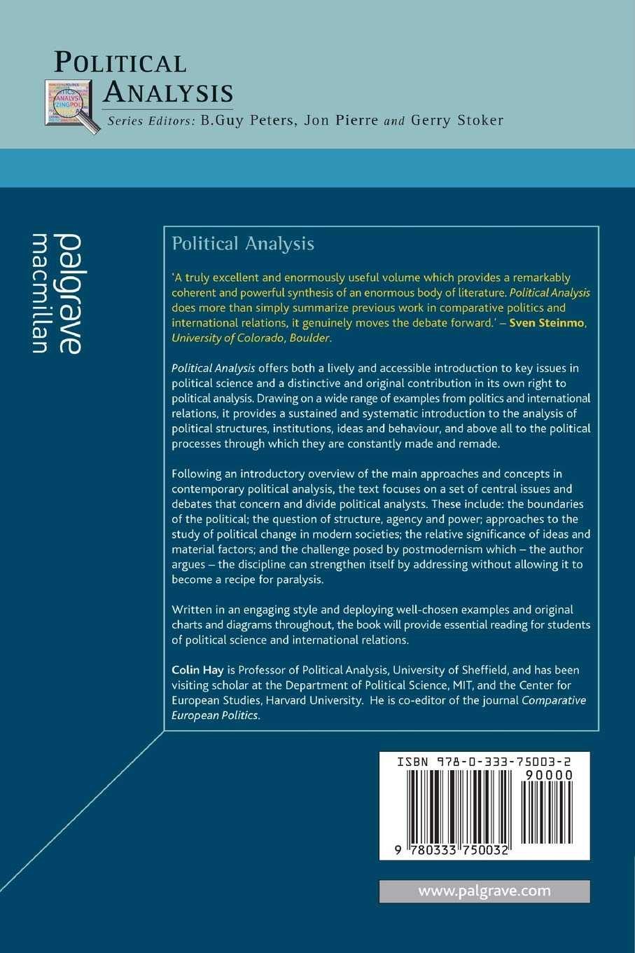 Buy Political Analysis: A Critical Introduction Book Online at Low ...
