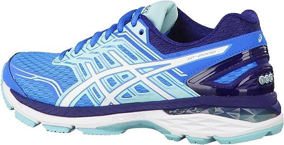 ASICS Gt-2000 5, Zapatillas de Running para Mujer, Azul (Diva Blue / White / Aqua Splash), 39.5 EU: Amazon.es: Zapatos y complementos