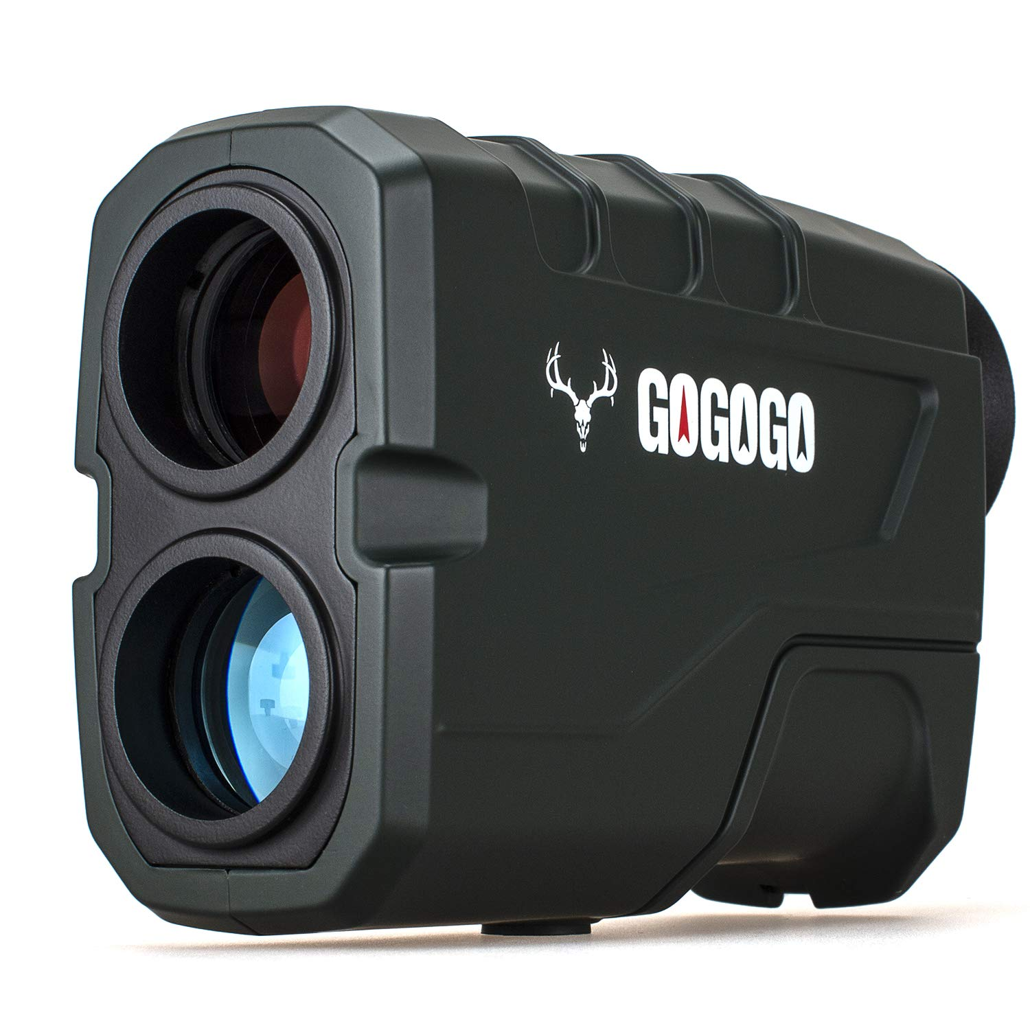 Gogogo Sport 1200 Yards Laser Range Finder, Hunting with Flagpole Lock - Ranging - Speed and Scan 6X Rangefinders with USB Cable by Gogogo Sport