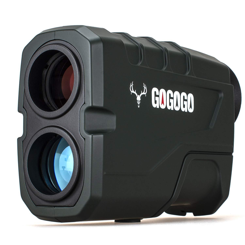 Gogogo Sport Hunting Rangefinder - 650 Yards Laser Range Finder for Hunting and Golf with Speed, Slope, Scan and Normal Measurements