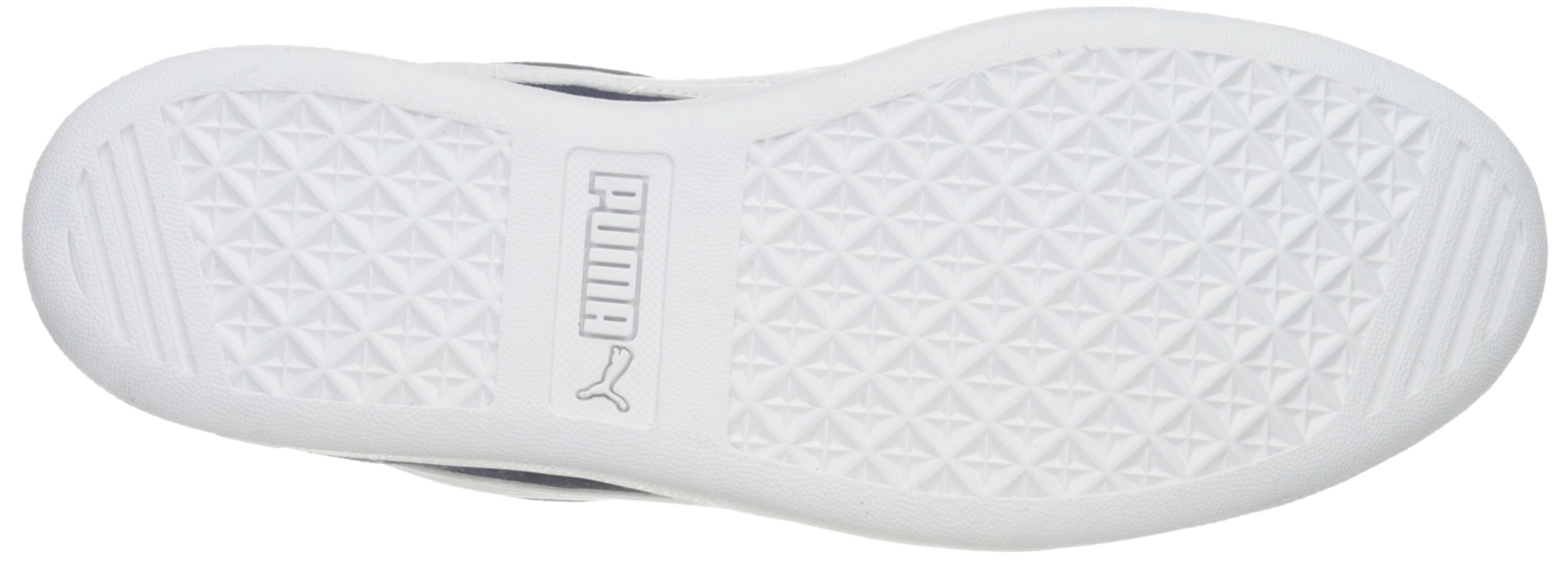 PUMA Women's Vikky Sfoam Fashion Sneaker, Peacoat White, 10 M US by PUMA (Image #3)
