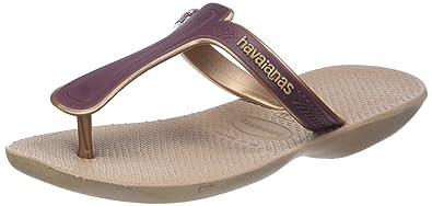 ba1391a23 Havaianas Women s Casuale Flip Flops  Amazon.co.uk  Shoes   Bags