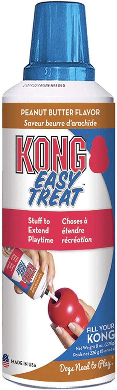 KONG - Easy Treat - Dog Treat Paste - 8 Ounce - Peanut Butter