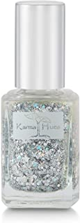 product image for Karma Organic Natural Nail Polish-Non-Toxic Nail Art, Vegan and Cruelty-Free Nail Paint (Glitter Bomb)