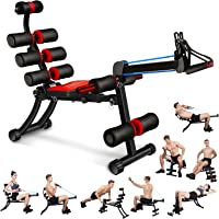 MBB 22 in 1 Wonder Master Core & Abdominal Workout Chair,Foldable & Adjustable Rowing Machine,22 Ways to Exercise…